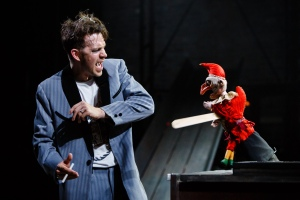 Dominic Marsh as Macheath in Dead Dog in a Suitcase (and other love songs) at Liverpool Everyman (c) Steve Tanner (2)