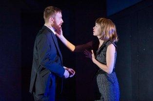 John Heffernan (Macbeth) and Anna Maxwell Martin (Lady Macbeth) in Macbeth. Photo by Richard Hubert Smith (2)