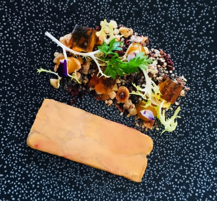 MW - foie gras & apricot