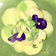 MW - water cress & jersey royal soup