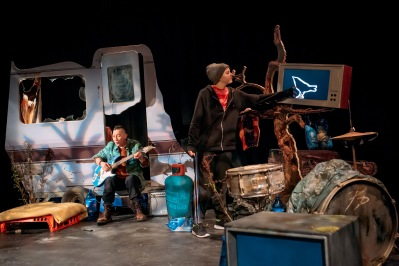 (1) Frozen Charlotte & Stadium Rock NESTS by Xena Marwick, Directed by Heather Fulton, Cast David McKay (The Father), Ashleigh More (The Boy), Photo credit Mihaela Bodlovic