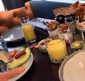 Bonnie Badger breakfast