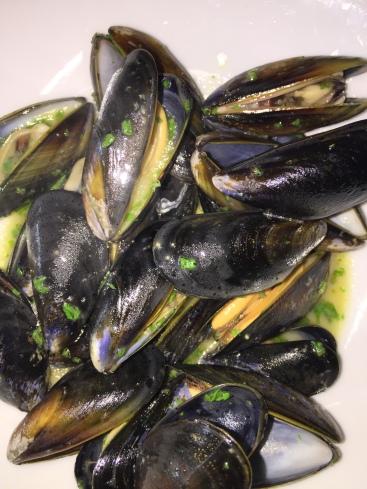 Mussels & Cider Butter