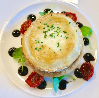 Goats Cheese vol -au-vent