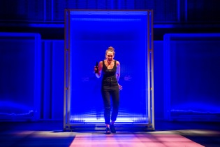 A scene from I Think We Are Alone by Sally Abbott @ Theatre Royal Plymouth. A Frantic Assembly and Theatre Royal Plymouth production. Directed by Kathy Burke and Scott Graham. (Opening 05-02-20) ©Tristram Kenton 02/20 (3 Raveley Street, LONDON NW5 2HX TEL 0207 267 5550 Mob 07973 617 355)email: tristram@tristramkenton.com