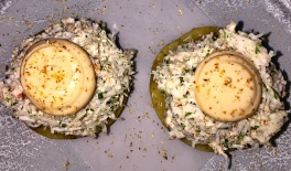 Baked Brown Crab