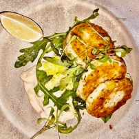 Chilli and coriander crab cakes